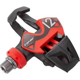Time Xpresso 12 Carbon Pedaler, black/red